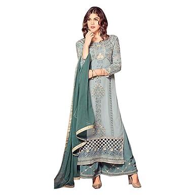 Amazon.com Designer Collection Indian Ethnic Long Dress