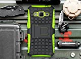 Galaxy Core Prime Case, Cocomii Grenade Armor NEW [Heavy Duty] Premium Tactical Grip Kickstand Shockproof Hard Bumper Shell [Military Defender] Full Body Dual Layer Rugged Cover Samsung G360 (Green)