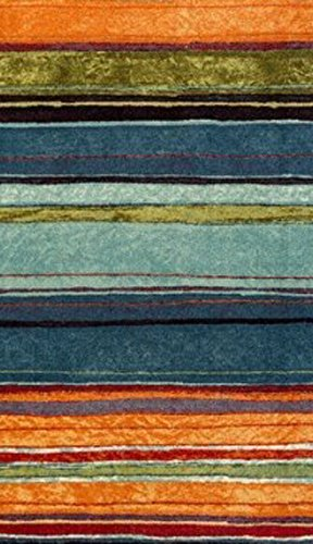 Mohawk Home New Wave Rainbow Printed Rug, 8'x10', Multi by Mohawk Home (Image #2)