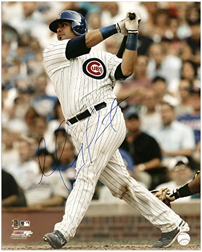 Photograph Cubs Soto Chicago - Geovany Soto Chicago Cubs Autographed 16