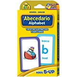 Alphabet Flash Cards - Bilingual (Spanish Edition)