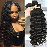 QTHAIR 10A Grade Peruvian Loose Deep Wave Human Hair(16\