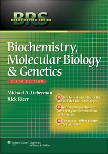 Brs biochemistry molecular biology and genetics board review brs biochemistry molecular biology and genetics board review series kindle edition by michael lieberman professional technical kindle ebooks fandeluxe Gallery