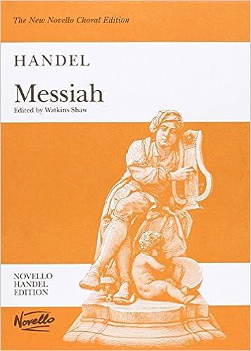 Image result for handel's messiah score