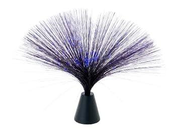 Wanted - Lamparilla de fibras ópticas LED, luz negra