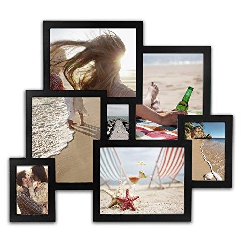 8 Frame Square Portrait and Landscape Design Collage Picture Frame - 3