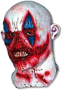 Bloodthirsty Zombie Clown Mask (máscara/ careta)