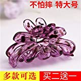 Small girl taking a bath clamp gripper clip hairpin Korean version of the large blue cute hair clips large bath for women girl lady