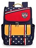Pointss Unisex Kid's Light School Bags Large Capacity School Backpacks Outdoor Waterproof Hiking Travel Backpacks (Red) Review