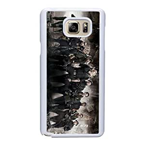 Generic Fashion Hard Back Case Cover Fit for Samsung Galaxy Note 5 Cell Phone Case white The Expendables with Free Tempered Glass Screen Protector TUB-1568545