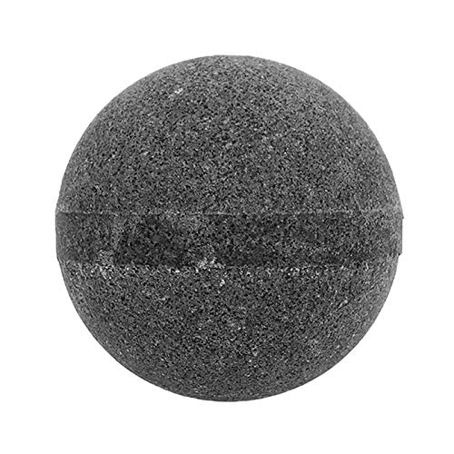 Hugo Naturals Fizzy Bath Bomb, Charcoal Coconut 7oz (Hugo Natural Bath Bomb)