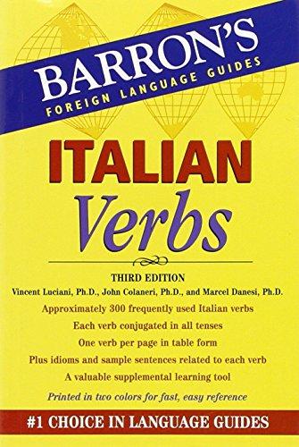 Italian Verbs (Barron's Verb Series)