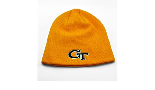 1fb2f98db65 Amazon.com  Georgia Tech Yellow Jackets Official NCAA Adult One Size Knit  Beanie Hat  Everything Else