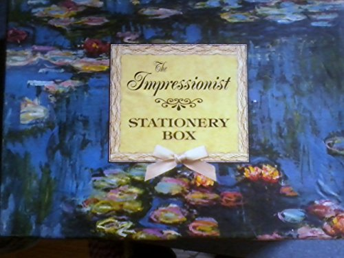 Stationery Box Monet Water Lily-Gb88