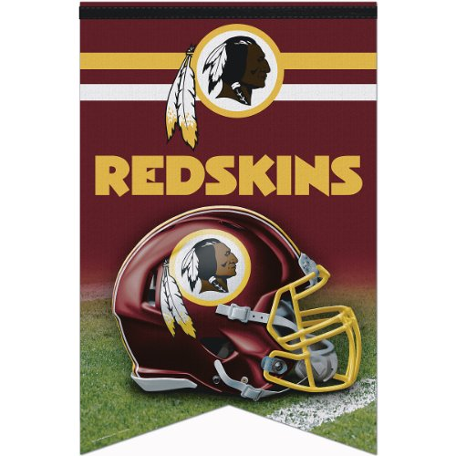 NFL Washington Redskins Premium Quality Banner, 17 x (Washington Redskins Nfl Wall)