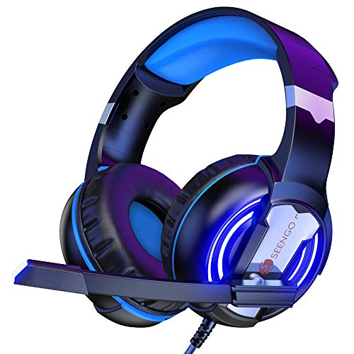 SEENGO Gaming Headset for PC PS4 Xbox