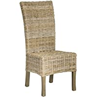 Safavieh Home Collection Quaker Natural Dining Chair (Set of 2)