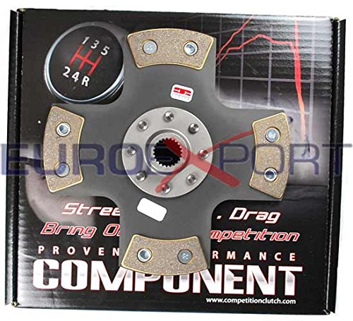 Puck Clutch Solid Disc - Competition Clutch 4 Puck Rigid Solid Disc Honda 1.6L D16 1.5L D15 99698-0420