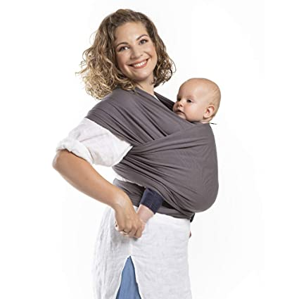 Boba Wrap Dark Grey Organic
