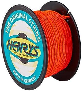 Henrys-Diabolo-Cuerda Henryys J91020-03 25 m Color Rojo,