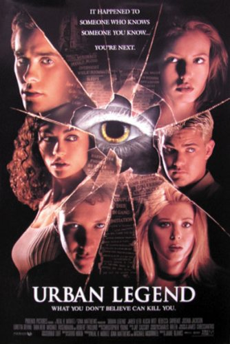 Urban Legend Poster - 4