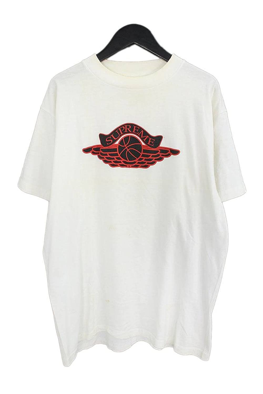 (シュプリーム) SUPREME 【98SS】【Jordan Wing Logo Tee】ウイングロゴTシャツ(L/ホワイト) 中古 B07FJVHJBX  -