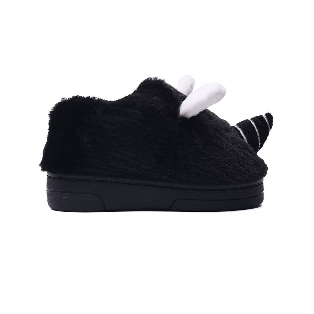 Gungun Unisex Cute Toddler Kids Shoes Slippers Boy Girl Winter Soft Bedroom Indoor House