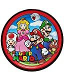 American Greetings Super Mario 8 Count Dinner Large Plate