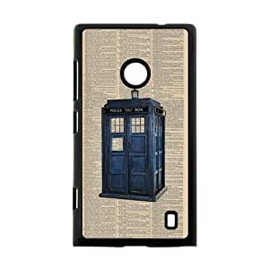 Canting_Good Phone Booth Custom Case Shell Skin for Nokia Lumia 520