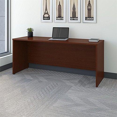 Bush Business Series C 72'' Credenza - Desk Shell in Mahogany