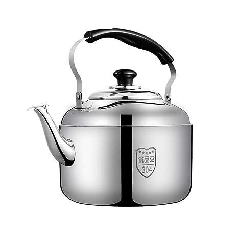 Amazon.com: Tetera de acero inoxidable para estufas ...