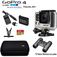GoPro 4 Black Edition Travel Kit