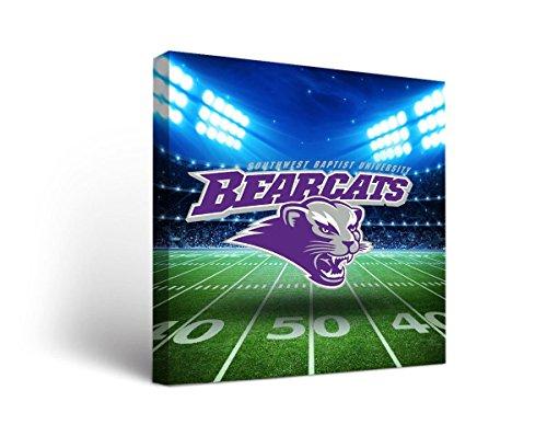 - Victory Tailgate Southwest Baptist University SBU Bearcats Canvas Wall Art Stadium Version (36x48)