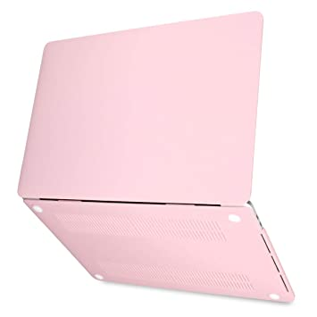 Batianda Funda para Macbook Air 13 2018 Carcasa Cubierta de plástico Duro para Laptop Macbook Air 13 13 Pulgadas con Retina Model A1932 Caso (Rosa ...