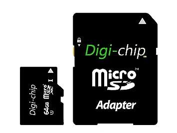 Digi-Chip - Tarjeta de Memoria microSD UHS-3 Class 10 para ...