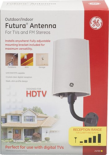 030878247696 - GE 24769 Outdoor Electric Antenna for Digital HDTV Futura carousel main 2