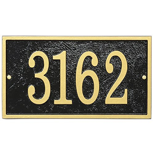 Whitehall Fast & Easy Rectangle Numbers Plaque