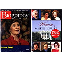 Women in The White house , Biography Laura Bush : 2 pack Collection - 3 Disc Set