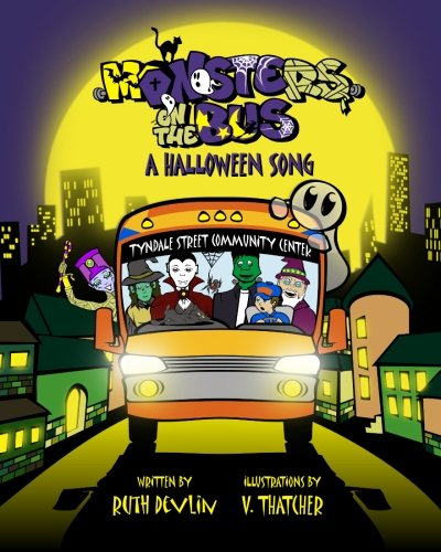 Monsters On the Bus: A Halloween Song -