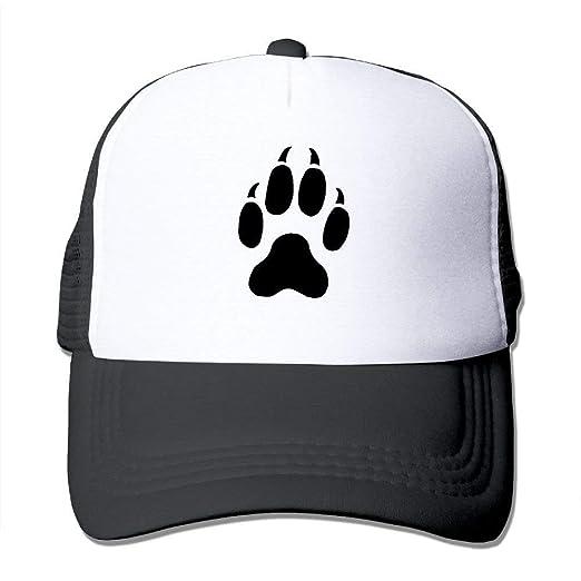 Amazon com: Cat Paw Print Tattoos Mesh Baseball Cap Unisex