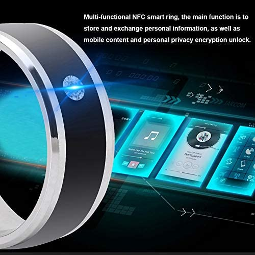 6in NFC Multi-Function Smart Rings Magic Wearable Device Universal for Mobile Phone Connecte to The Mobile Phone Function Operation and Sharing of Data 51k2PHhBIJL