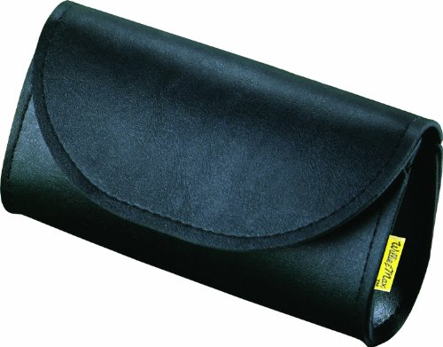 Willie & Max by Dowco 58611-00 Synthetic Leather Motorcycle Windshield Bag/Handlebar Pouch: Black, Universal Fit - Willie And Max Bag