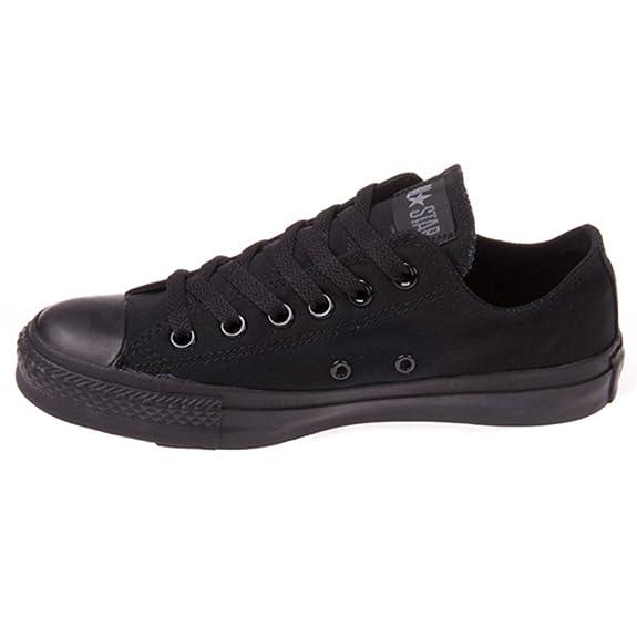 Amazon.com | Converse Unisex Chuck Taylor All Star Ox Basketball Shoe (5.5 B(M) US Women / 3.5 D(M) US Me, Black Monochrome) | Fashion Sneakers