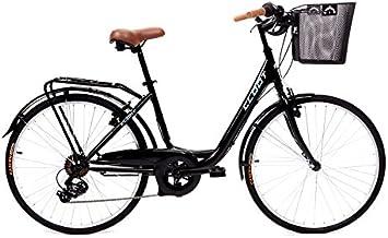 CLOOT Bicicletas de Paseo Relax Negra-Bici Paseo con Cambio ...