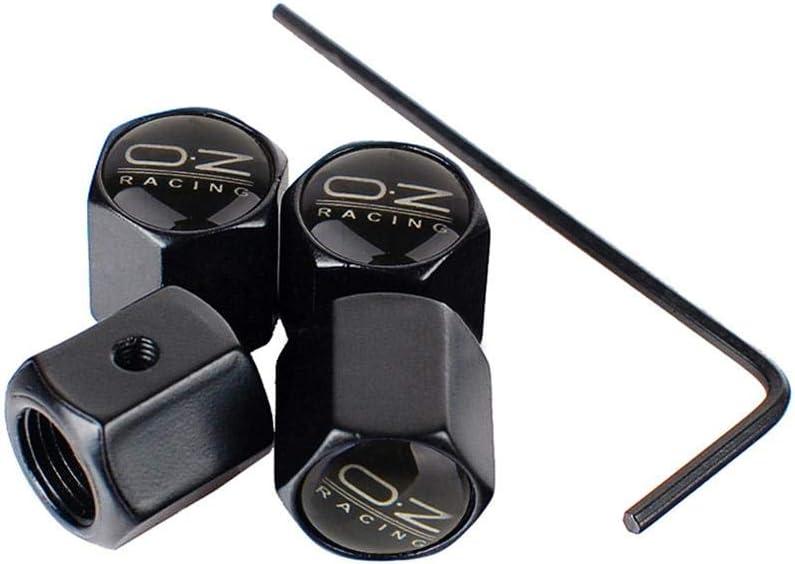 accessori per auto 4PCS OZ copertura dello stelo della valvola del pneumatico della ruota da corsa copertura antifurto per la maggior parte delle auto