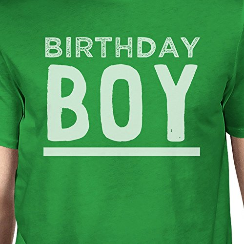 Unique Courtes Birthday Printing T shirt Homme Manches Taille 365 Boy Green 07SwqxA1A