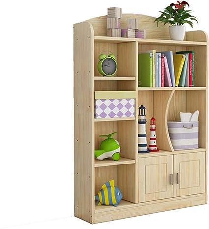 Estantería para niños Madera 3 Niveles Librería Infantil ...
