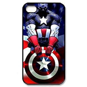 SUUER Rubber Silicone Sailor Captain America Personalized Custom Plastic Rubber Tpu CASE for iPhone 5 5s Durable Case Cover by Maris's Diary