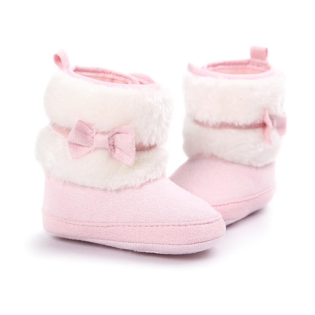 Clode/® Kleinkind Baby M/ädchen Warm Halten Schneestiefel Weiche Sohlen Krippe Schuhe Kleinkind-Stiefel