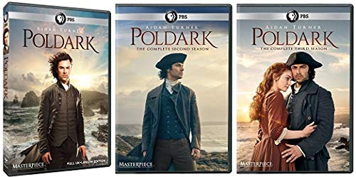 Revealed 3 Artwork - Masterpiece: Poldark Seasons 1-3
